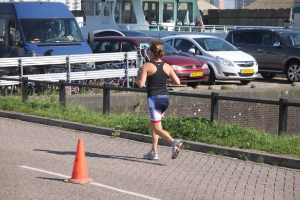 running_young_woman